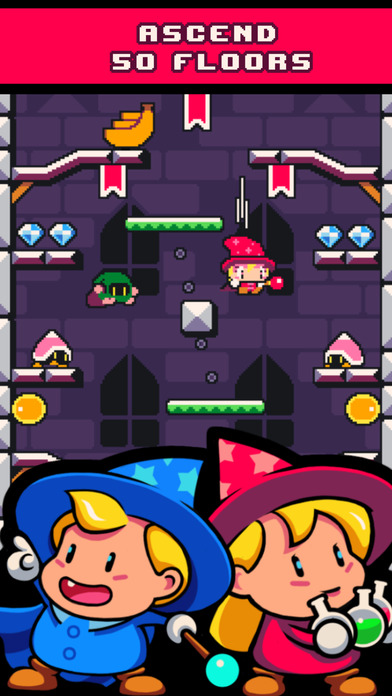 Drop Wizard Tower iOS Screenshots