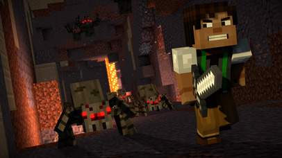 Screenshot 1 Minecraft: Story Mode - Season Two
