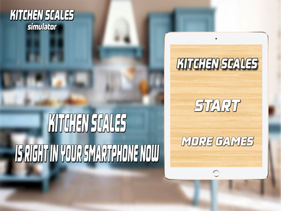 Kitchen scales simulator per maksim dudnik for Ipad kitchen scale
