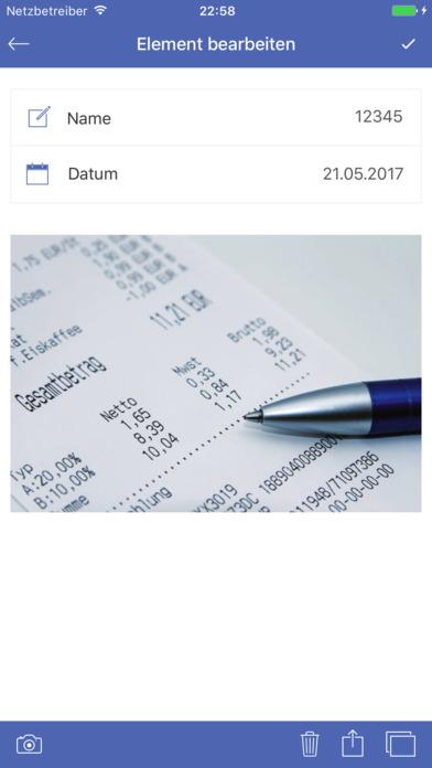 SayMoney - Haushaltsbuch Screenshot