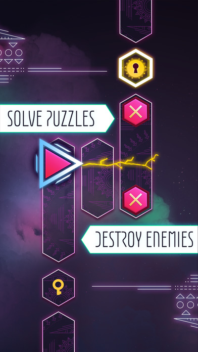 Stolen Thunder - A Unique Action Puzzle Adventure iOS Screenshots