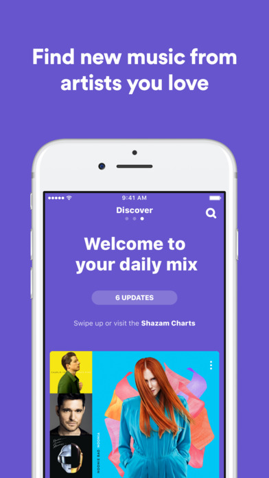 Shazam - Discover music, artists, videos & lyrics Screenshot