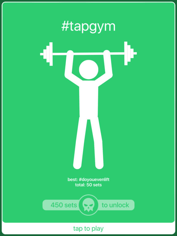 #tapgym iOS Screenshots