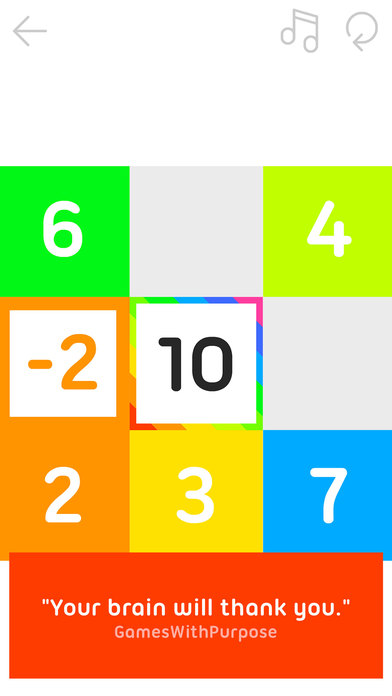10 - a Puzzle Made of Numbers Screenshots