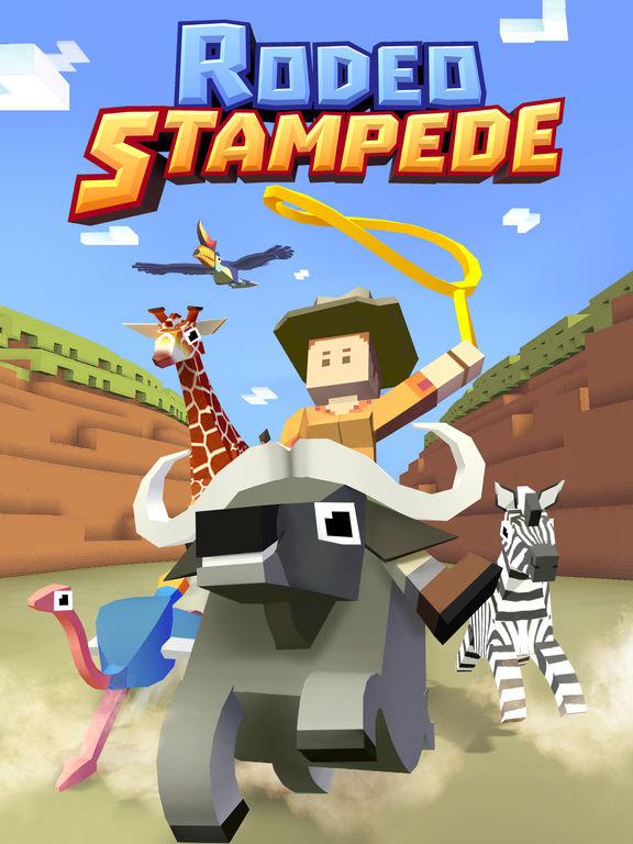 Rodeo Stampede - Sky Zoo Safari  Bild 5