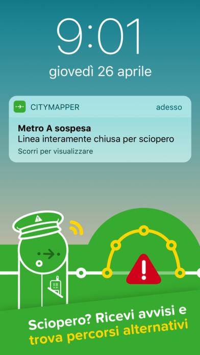 Citymapper - Bus, Metro e Treni a Roma e Milano Screenshot