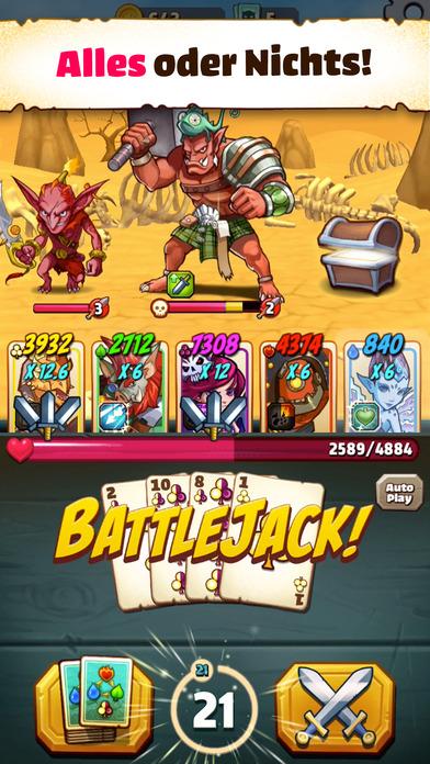 Battlejack iOS Screenshots