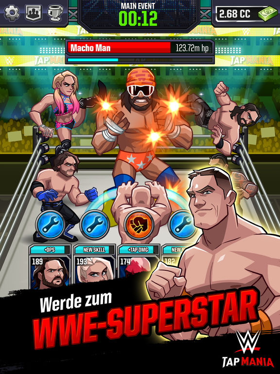 Screenshot 2 WWE Tap Mania