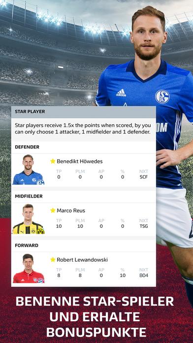 Offizieller Bundesliga Fantasy Manager Screenshot