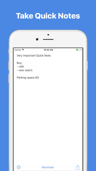 Quick Notes — Notes with widget Screenshot