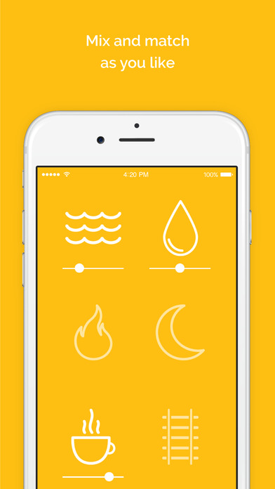Screenshot for Noisli in Austria App Store