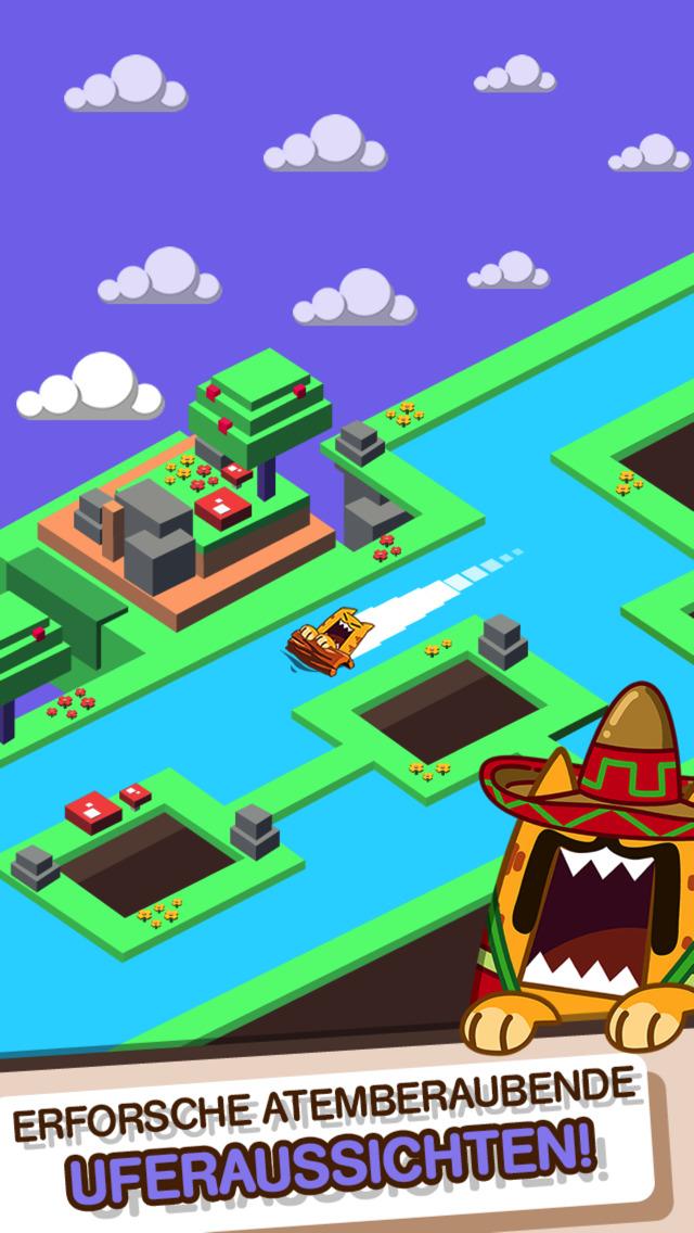 Screenshot 3 Splashy Cats: Endless Zigzag Arcade Water Game