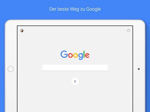 Google — die offizielle Suche-App Screenshot