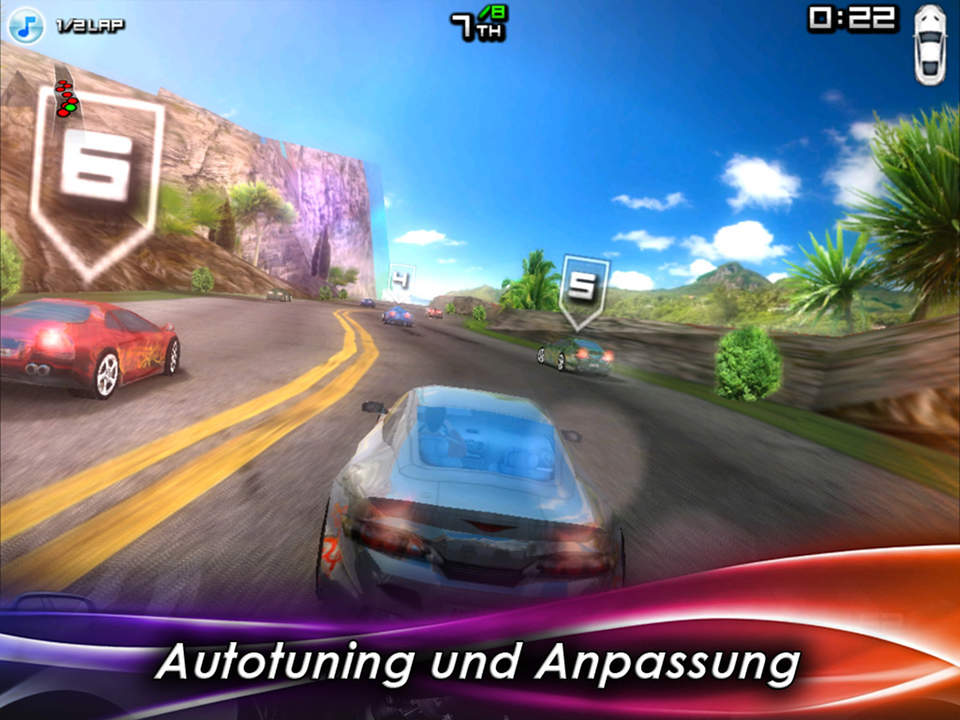 Race Illegal: High Speed 3D Free  Bild