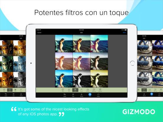 Cámara+ for iPad Screenshot