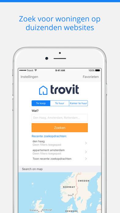Huizen te koop en te huur - Trovit - App voor iPhone, iPad en iPod