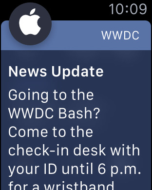 WWDC Screenshot