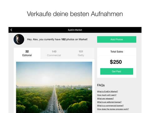 EyeEm – Beste Foto-Community Screenshot