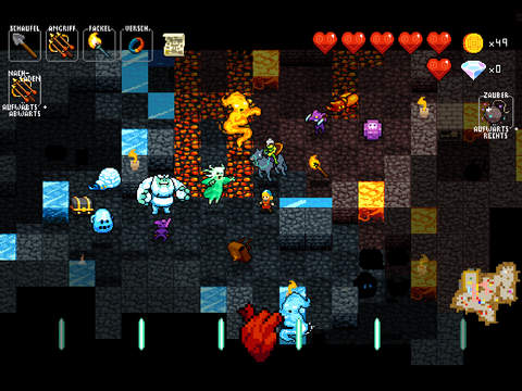 Screenshot 2 Crypt of the NecroDancer Pocket Edition