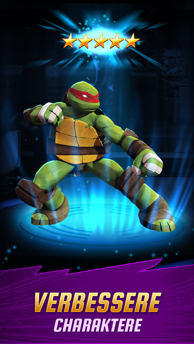 Teenage Mutant Ninja Turtles Legends iPhone iPad