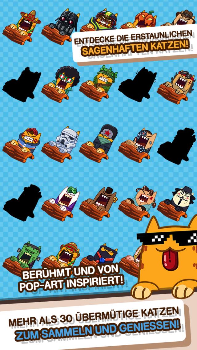 Screenshot 4 Splashy Cats: Endless Zigzag Arcade Water Game