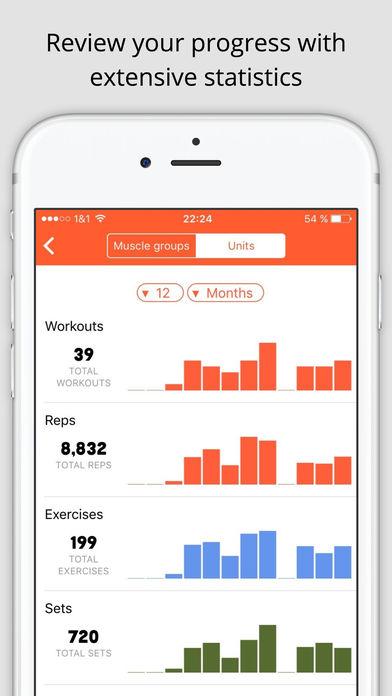 Gym Hero - Fitness Log & Workout Tracker Screenshot