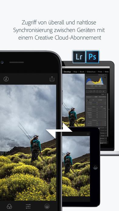 Adobe Photoshop Lightroom for iPhone - Fotos Bearbeiten, Organisieren und Teilen Screenshot