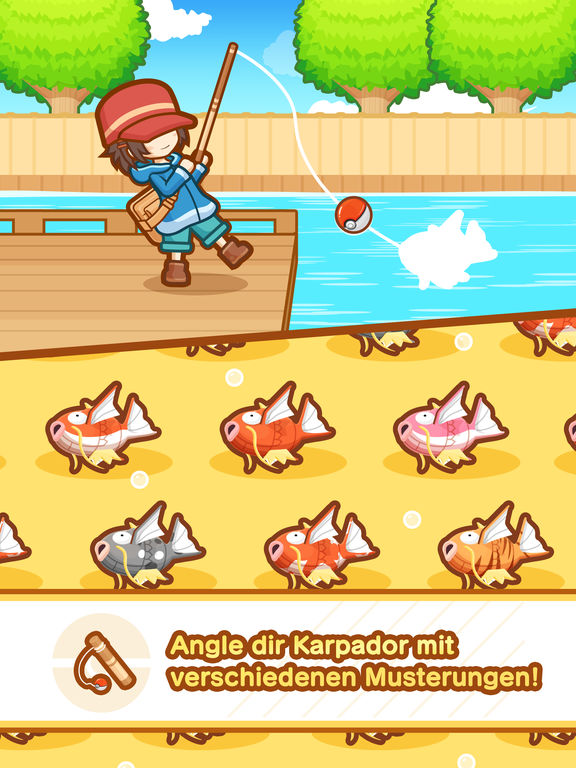 Screenshot 4 Pokémon: Karpador Jump