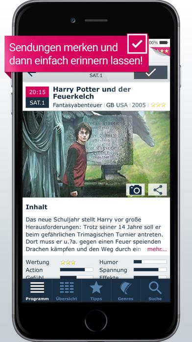 TV-Programm KLACK: gratis, schnell & übersichtlich Screenshot