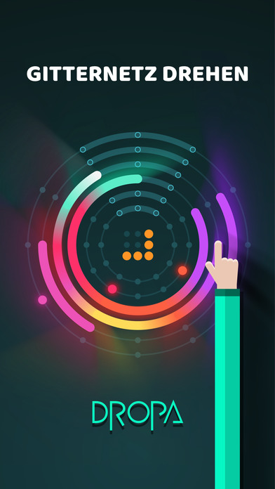 Dropa - Clear the Rings iOS Screenshots