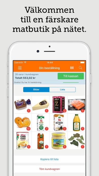 köpa mat på nätet malmö