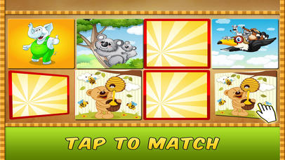 Animal Matching Puzzle
