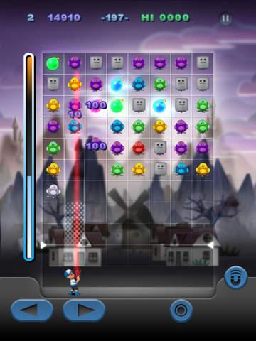 Puzzle Bot Blast - Match 3 Shooter Screenshot