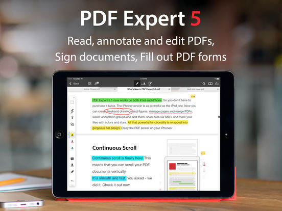 PDF Expert - Edit, annotate and sign PDF documents Screenshot