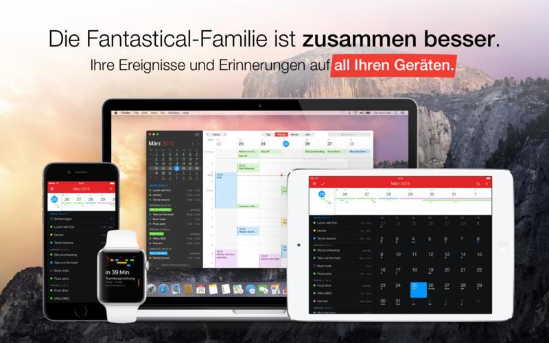 Fantastical 2 - Kalender und Erinnerungen Screenshot