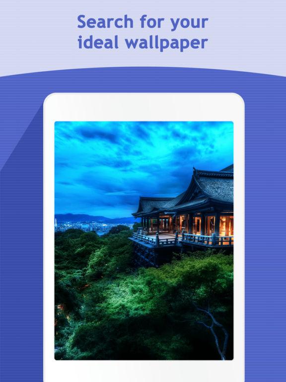 HD Wallpapers & Backgrounds – Cool Retina Themes Screenshot