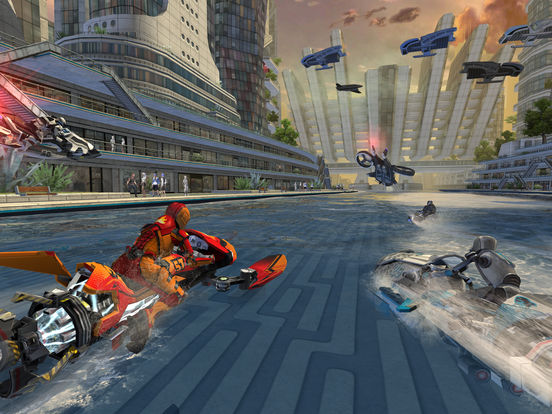 Riptide GP: Renegade iOS Screenshots
