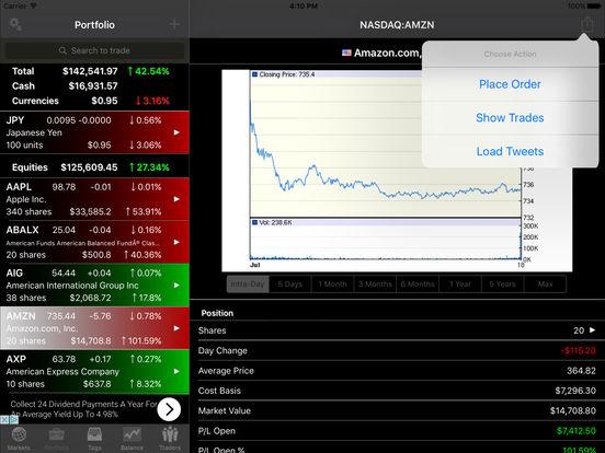 virtual stock app
