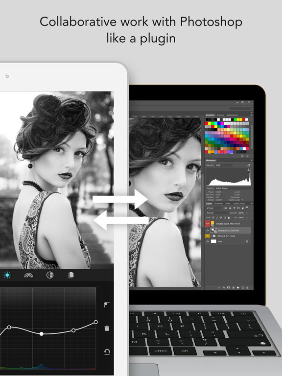 MaxCurve - Curve image editor for pro photography Screenshot
