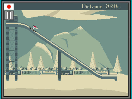 Retro Winter Sports 1986 iOS