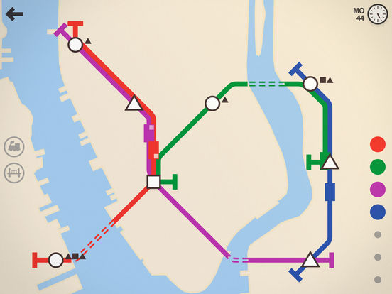 Screenshot 2 Mini Metro