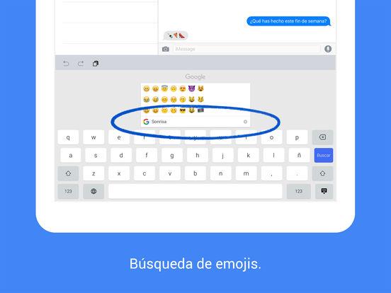 Gboard — El nuevo teclado de Google Screenshot