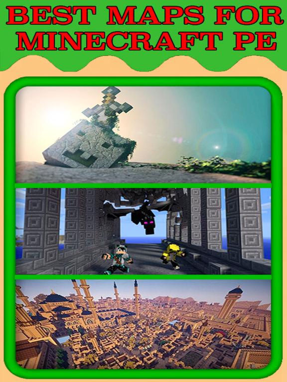 Creative Minecraft PE Edition Download Best Maps For Minecraft - Minecraft maps fur ipad