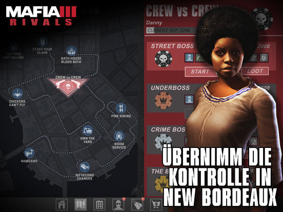 Mafia III: Rivals iOS Screenshots