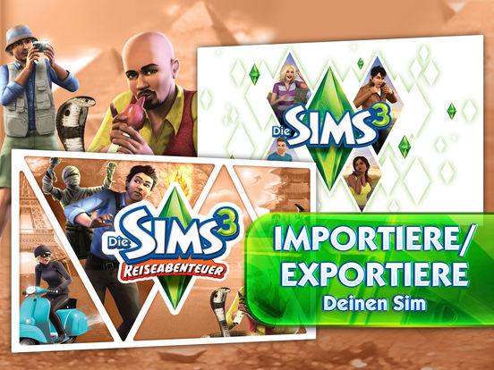 Screenshot 3 Die Sims 3 Reiseabenteuer