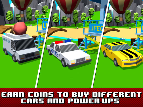 Pixel Car Crash: Faily Brakes Full Screenshots