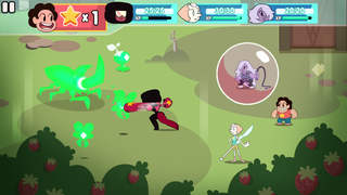 Attack the Light - Steven Universe Light RPG iOS Screenshots