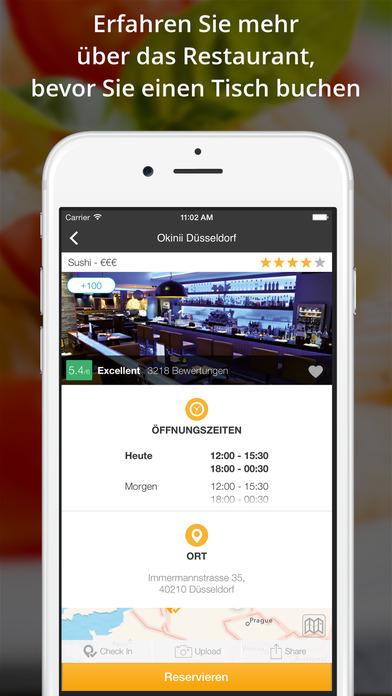 Quandoo - Restaurants finden und reservieren Screenshot