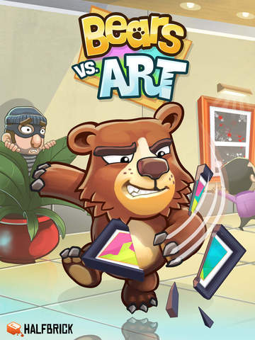 Bears vs. Art iOS Screenshots