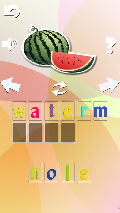 Kid learn to spell - How to spell every day objects for kid in Preschool and Kindergarten Screenshot